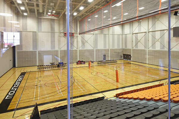 David Braley Athletics and Recreation Centre gymnasium