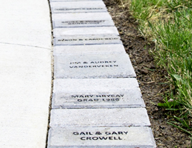 Mohawk College Fennell Campus Brick Path