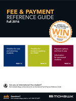 Fall 2016 Fee & Payment Reference Guide