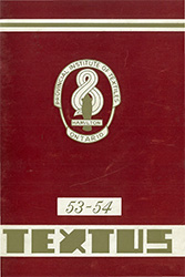 1953 - 1954 Yearbook