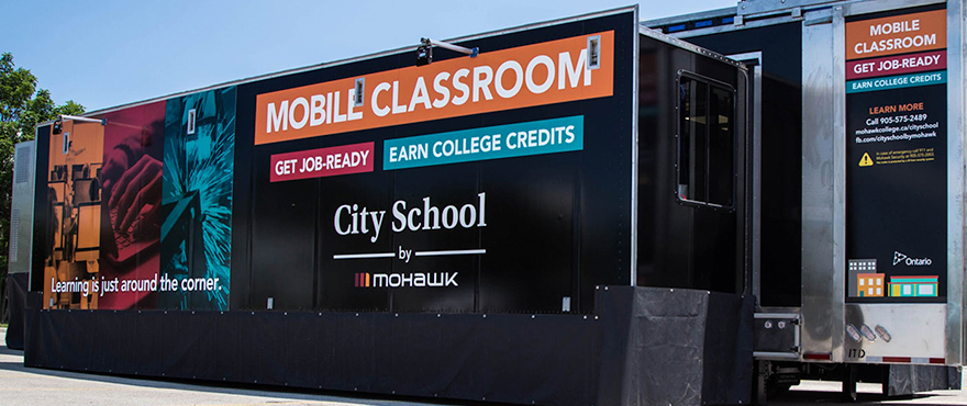 City School Mobile Classroom