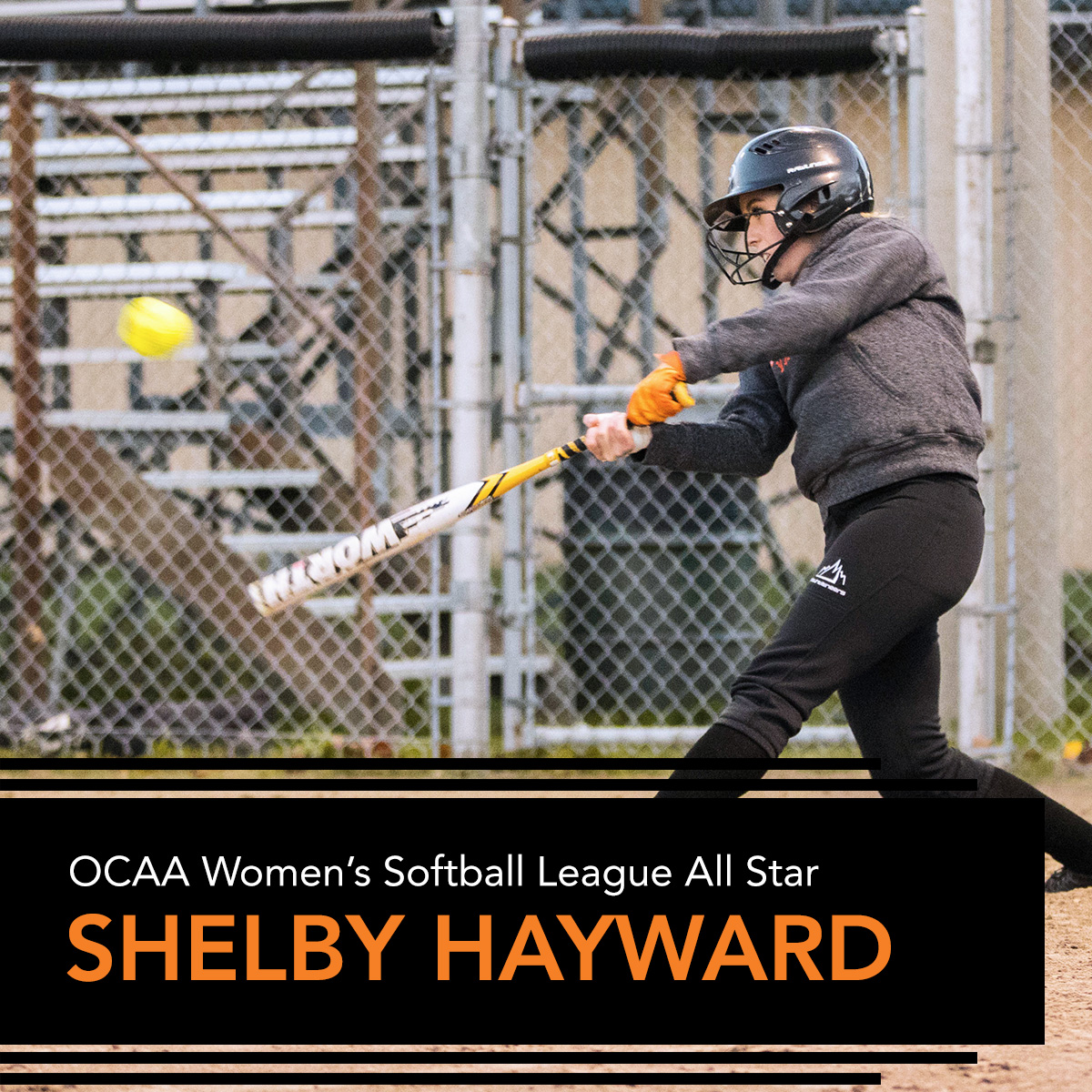 Mohawk's Hayward OCAA Women's Softball All-Star | Mohawk College