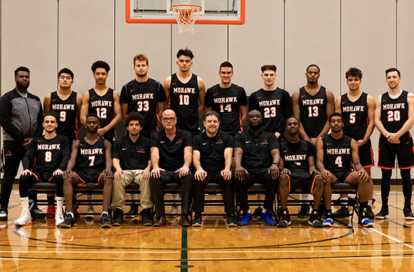 Men's basketball 2019/20 Team Photo