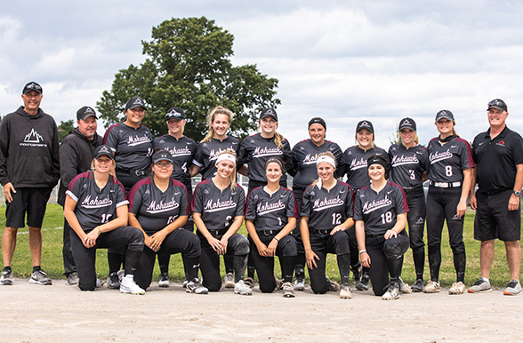 2019/2020 Women's Softball Team Photo