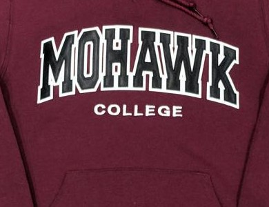 Mohawk college sweatshirt