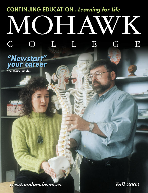 Mohawk College Continuing Education Catalogue Cover Fall 2002