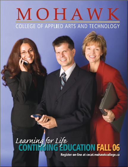 Mohawk College Continuing Education Catalogue Cover Fall 2006