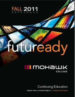 Mohawk College Continuing Education Catalogue Cover Fall 2011