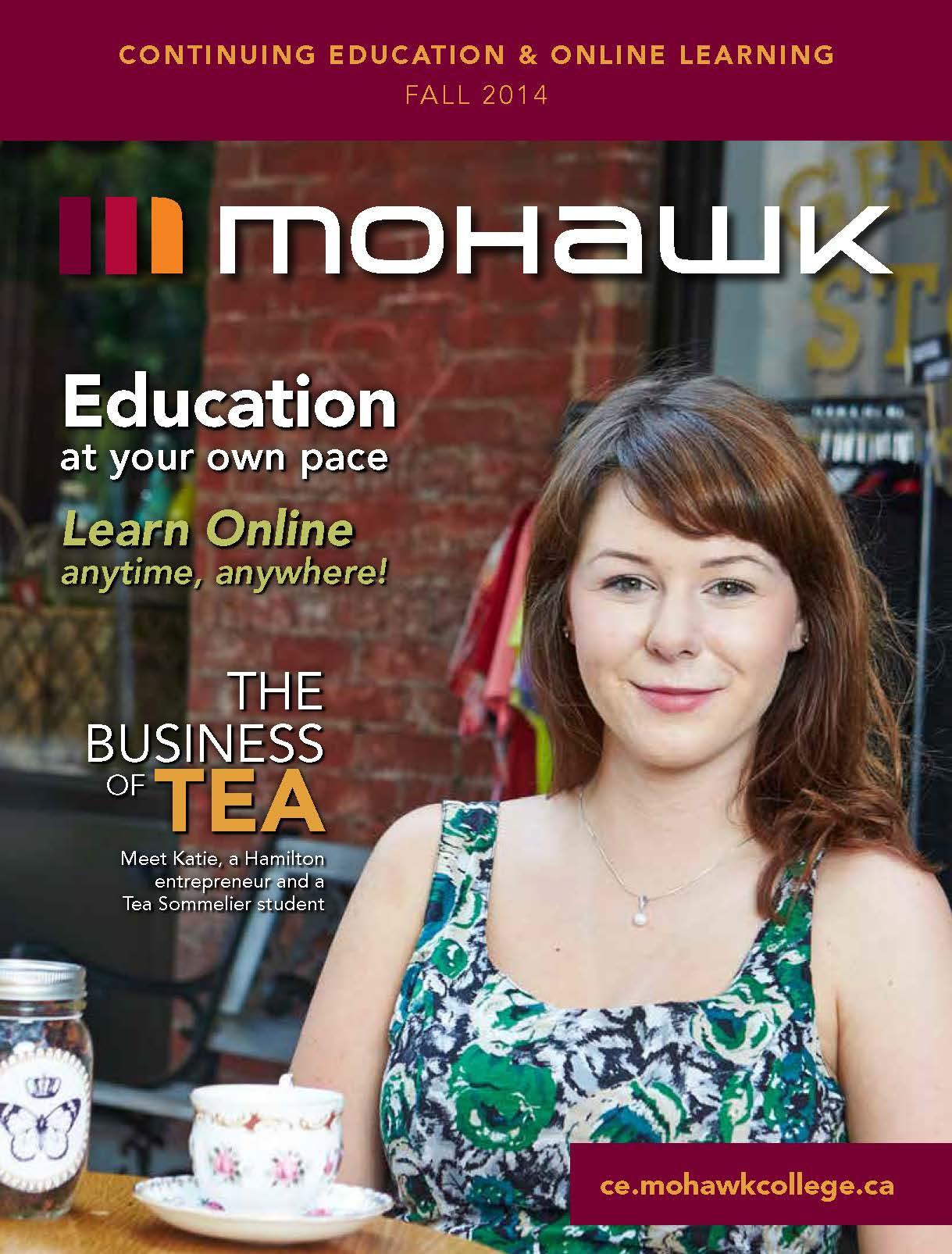 Mohawk College Continuing Education Catalogue Cover Fall 2014