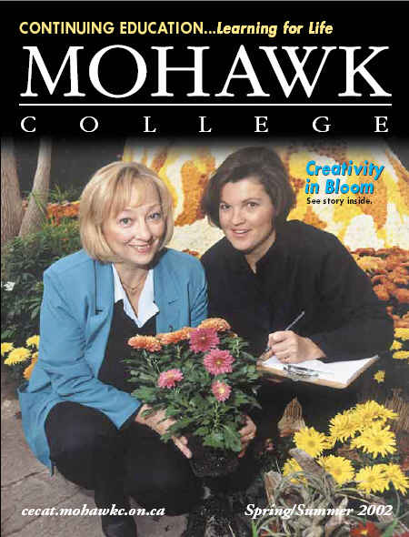Mohawk College Continuing Education Catalogue Cover Spring 2002