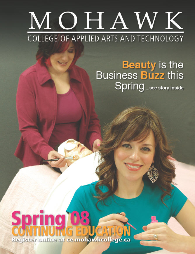 Mohawk College Continuing Education Catalogue Cover Spring 2008