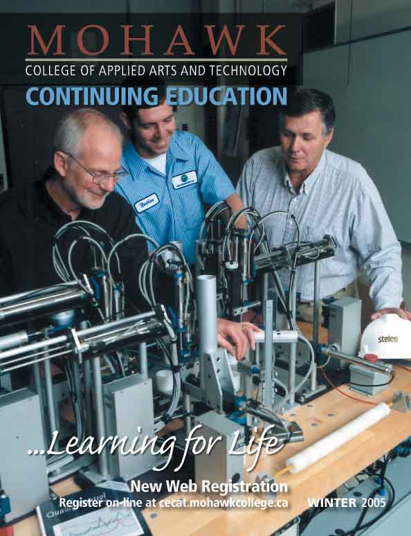 Mohawk College Continuing Education Catalogue Cover Winter 2005
