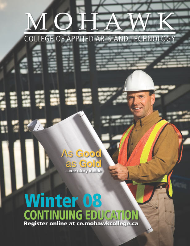 Mohawk College Continuing Education Catalogue Cover Winter 2008