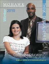 Mohawk College Continuing Education Catalogue Cover Winter 2010