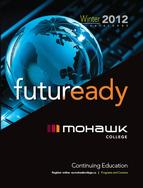 Mohawk College Continuing Education Catalogue Cover Winter 2012