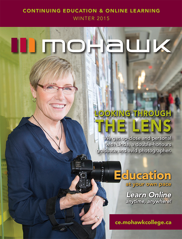 Mohawk College Continuing Education Catalogue Cover Winter 2015