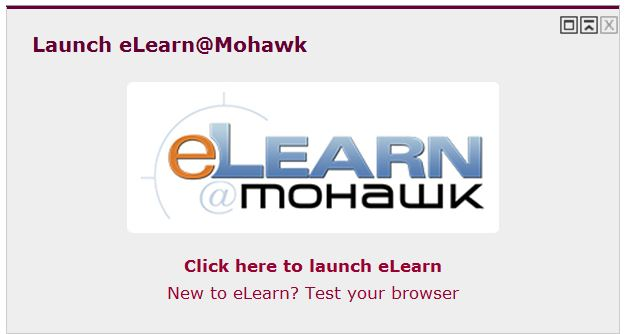 how to change mohawk elearn password
