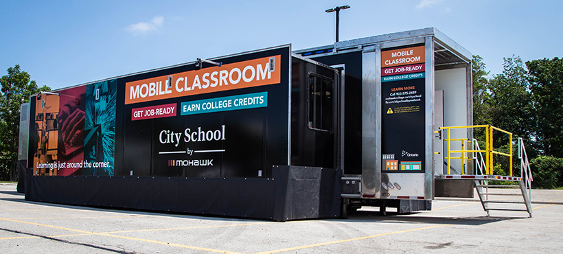 city school by mohawk trailer exterior