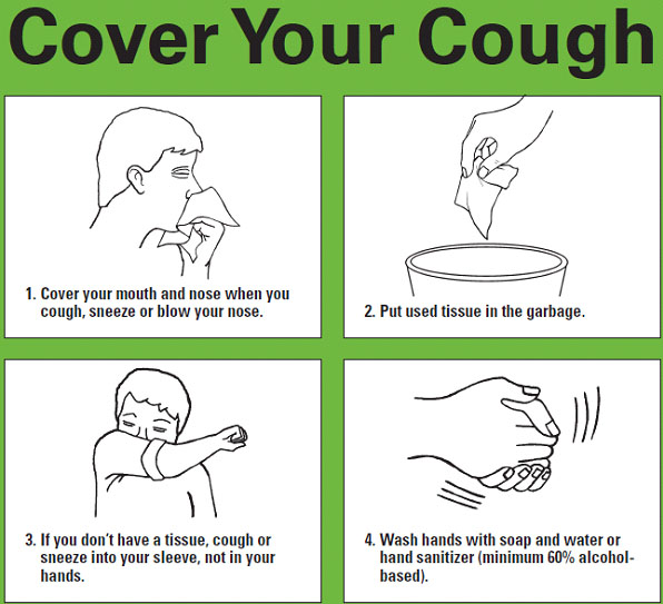 Cover Your Cough Logo
