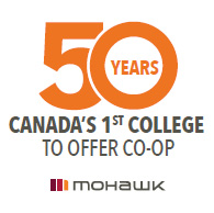 50 years of co-op. Canada's first College to offer co-op