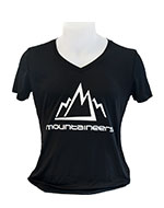 laddies atc tshirt dry fit mountaineers black