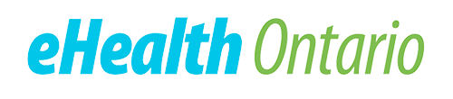 English Logo Black ehealth ontario