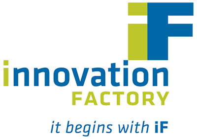 Innovation Factory Tagline logo