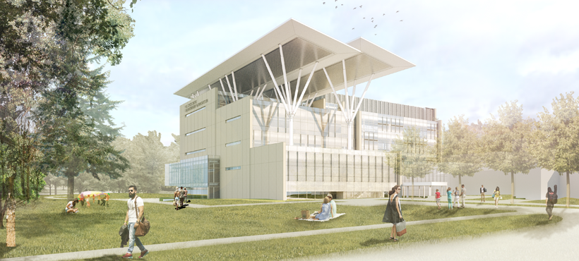 Joyce Centre for Partnership and Innovation Rendering