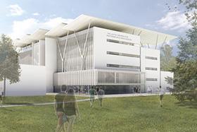Rendering of Joyce Centre