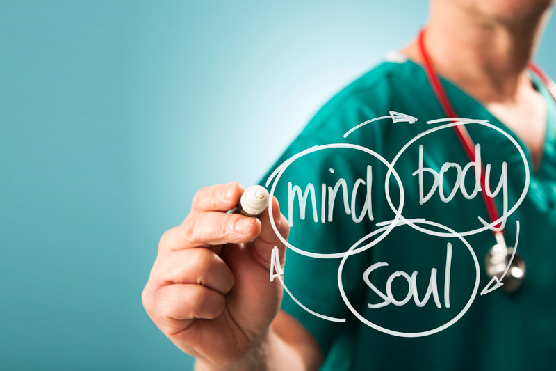 mind body soul services at health centre