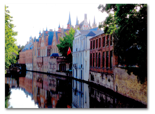 2nd Place - Bruges, Belgium by Ian Kaminsky
