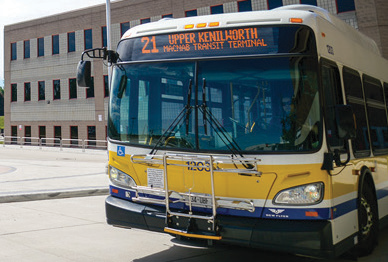 bus number 21 at mohawk