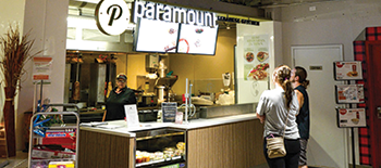 paramount fastfood at food court