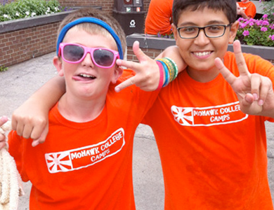 mohawk college summer camp kids