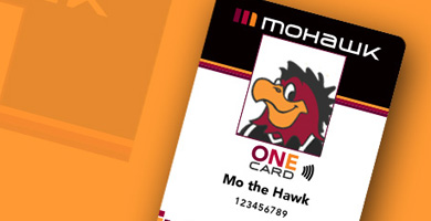 Image of Mo the Hawk's ONE Card