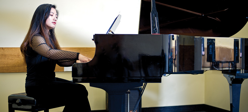mohawk student performs her final recital