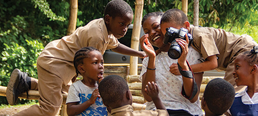 Photography - Still and Motion student participating on a trip to Jamaica