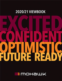 Cover of the 2020-2021 Viewbook