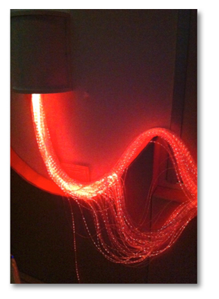 Multi-Sensory Rm - Fiber optic fountain 2