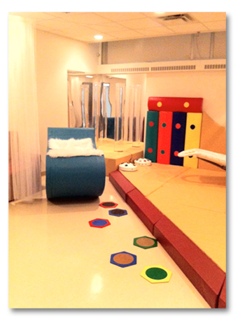 Multi-Sensory Rm - Rocker stepping stones