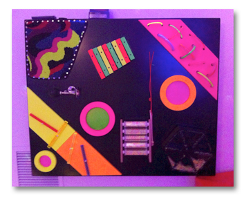 Multi-Sensory Rm - Tactile Panel