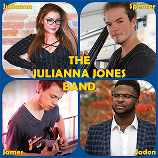 The Julianna Jones Band - Julianna, Spencer, James and Jadon