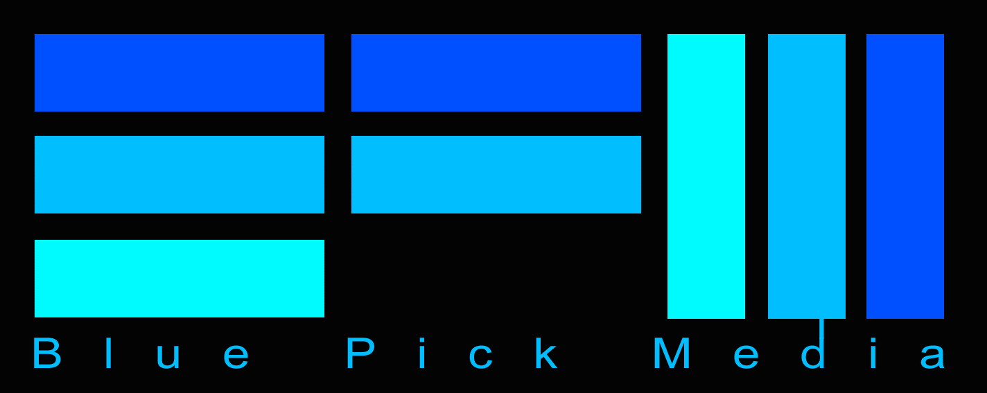 Blue Pick Media Logo