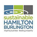 sustainable hamilton burlington logo