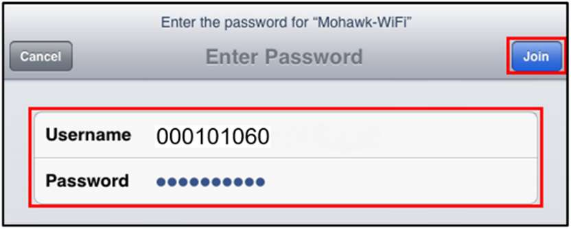 iOS Wi-Fi Authentication