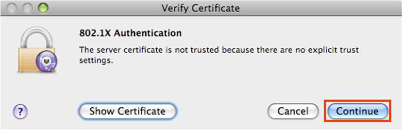 macOS Verify Signature Window