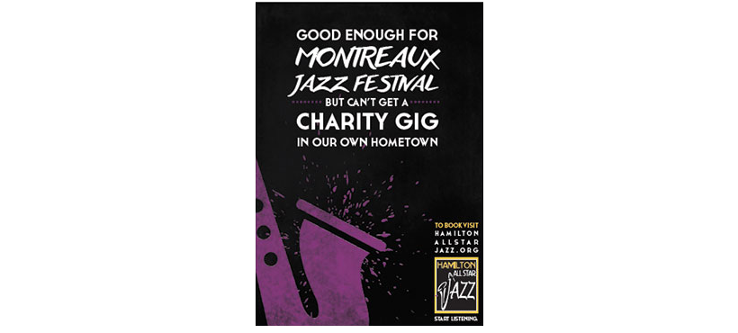 montreal all star jazz band poster