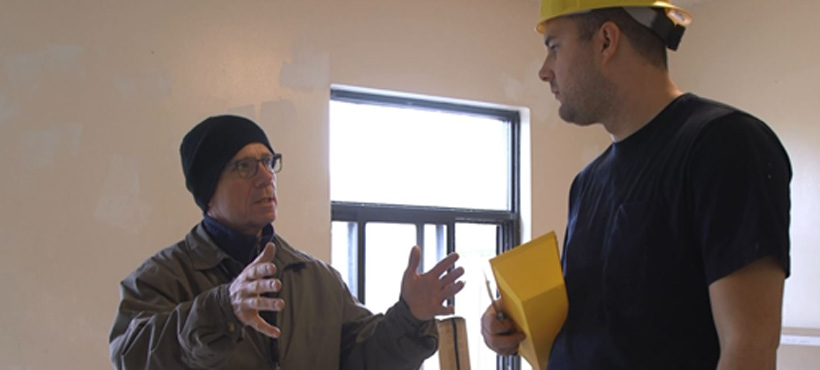Mohawk Instructor Teaching Student on site