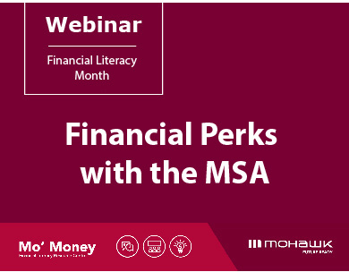 Finacial Perks with the MSA webinar