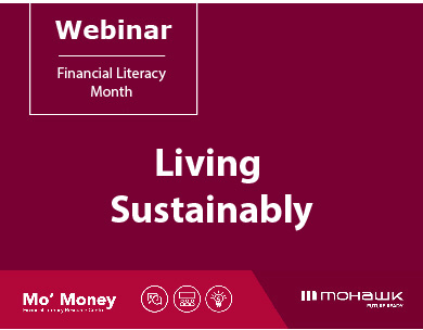 Living sustainably webinar